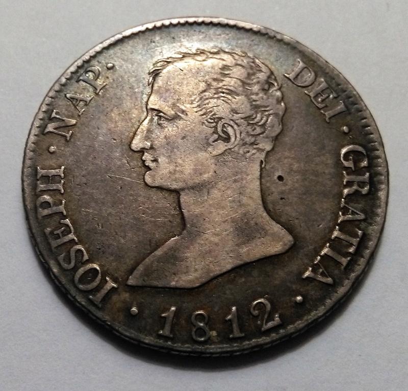 10 reales 1812. José Napoleón. Madrid. Un solo mundo Img_2325