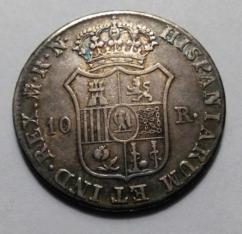 10 reales 1812. José Napoleón. Madrid. Un solo mundo Img_2326