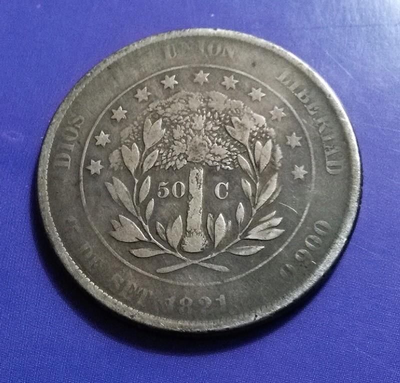 CENTROAMÉRICA: Monedas herederas de los 8 reales desde la Independencia Img_2332