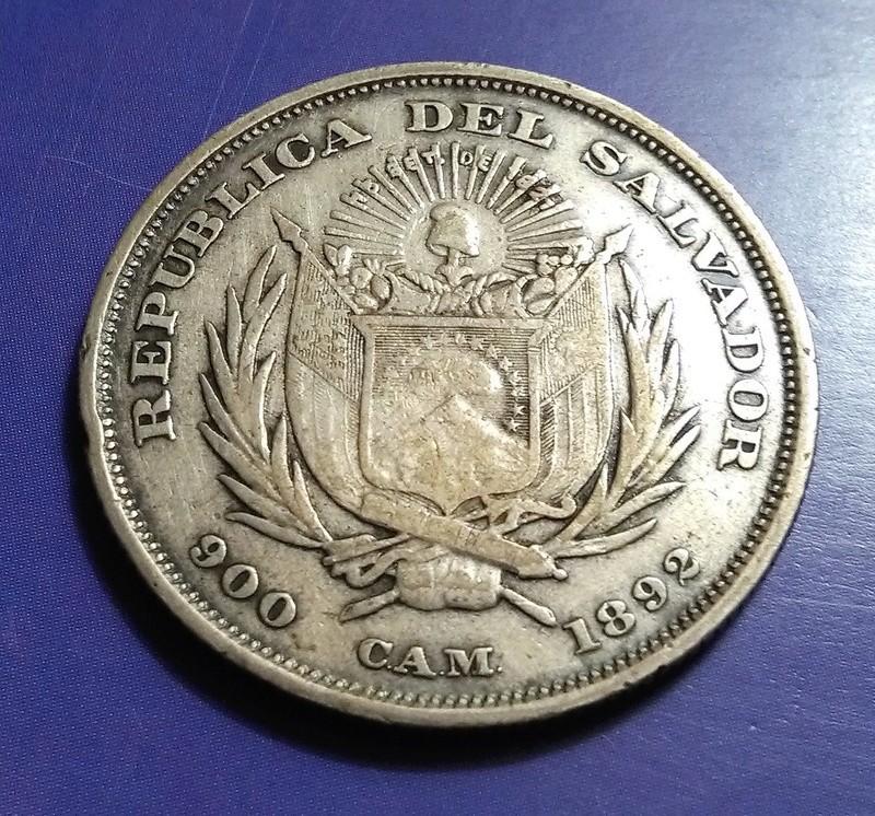 CENTROAMÉRICA: Monedas herederas de los 8 reales desde la Independencia Img_2339