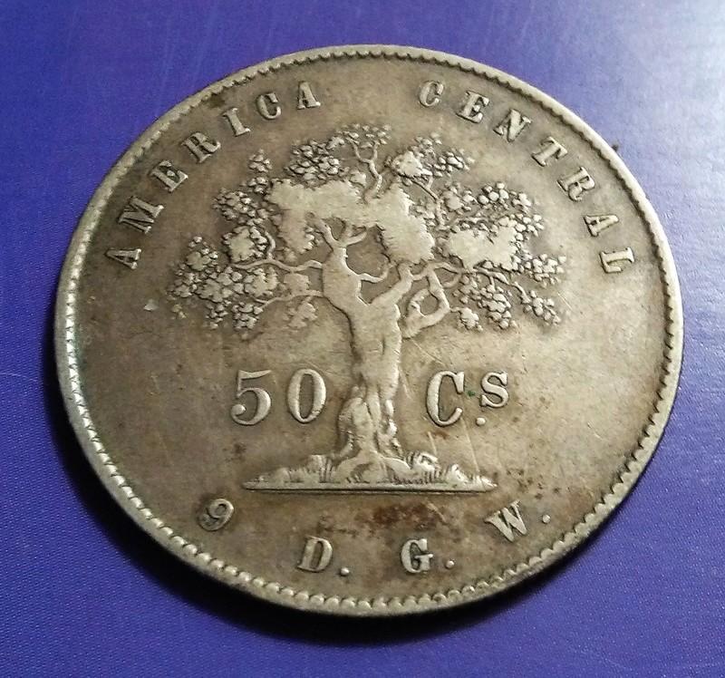 CENTROAMÉRICA: Monedas herederas de los 8 reales desde la Independencia Img_2342