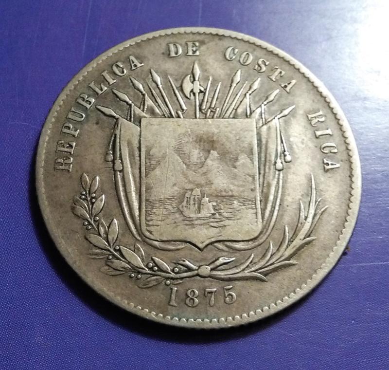 CENTROAMÉRICA: Monedas herederas de los 8 reales desde la Independencia Img_2343