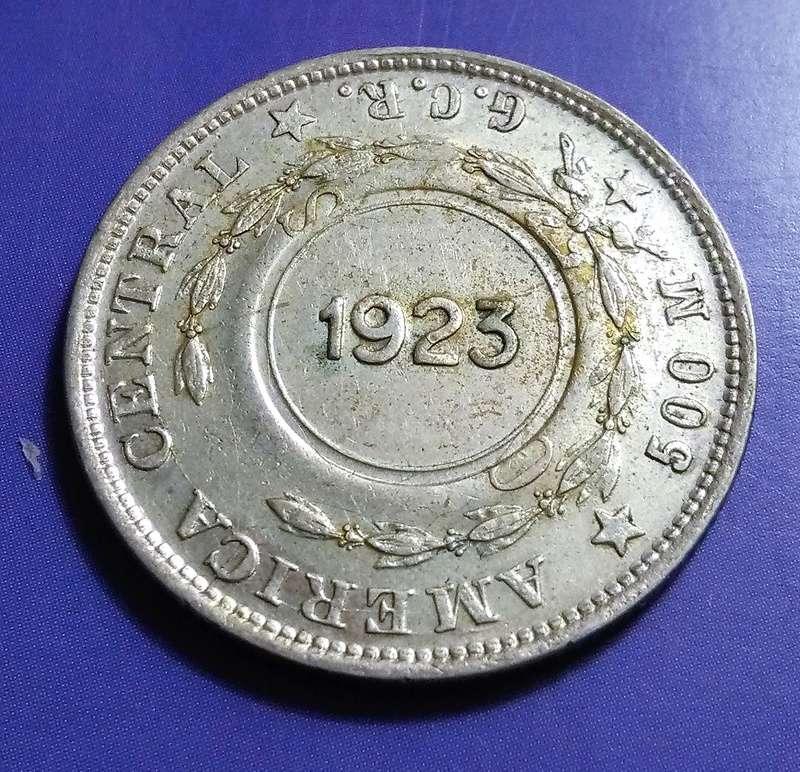 CENTROAMÉRICA: Monedas herederas de los 8 reales desde la Independencia Img_2347