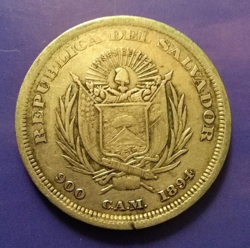 CENTROAMÉRICA: Monedas herederas de los 8 reales desde la Independencia Img_2368