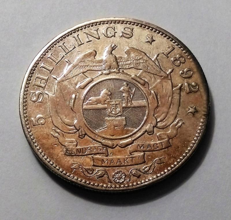 5 Shillings boers, Sudáfrica, 1892 Img_2404