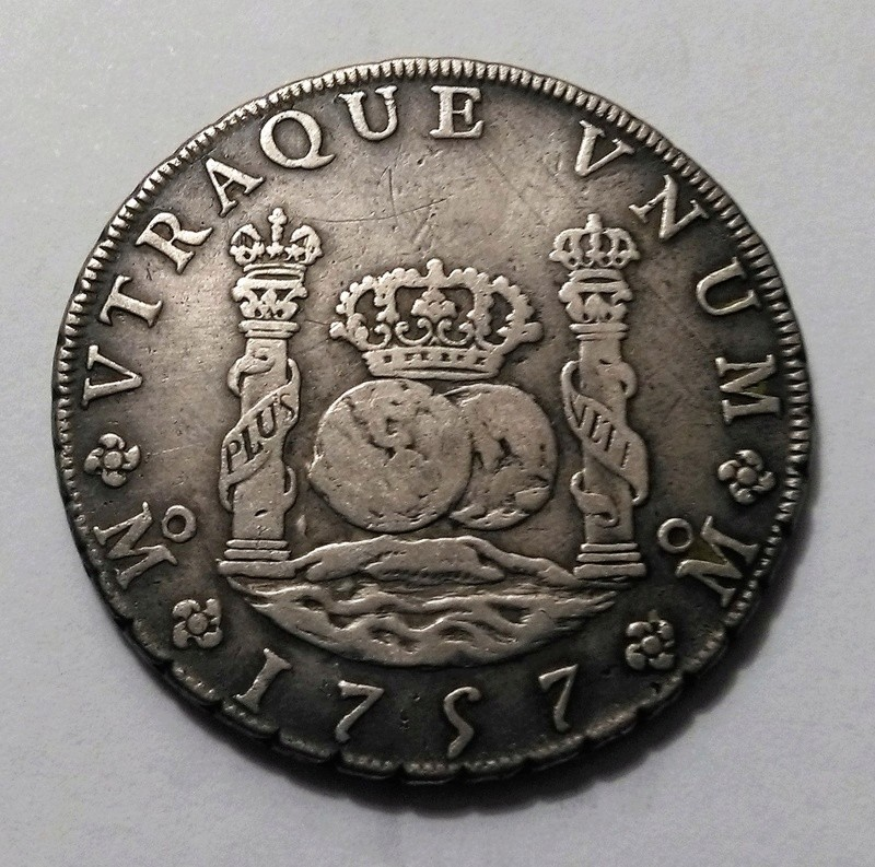 8 reales de 1757 - Fernando VI, México Img_2429