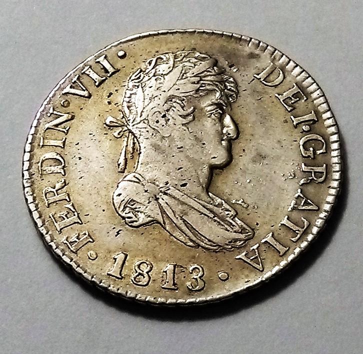 2 reales de 1813 - Fernando VII, Cataluña Img_2431