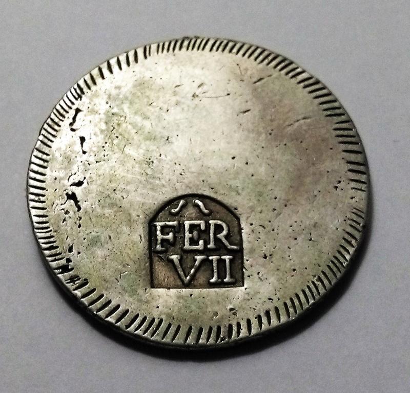 Un duro 1808. Fernando VII. Gerona Img_2438