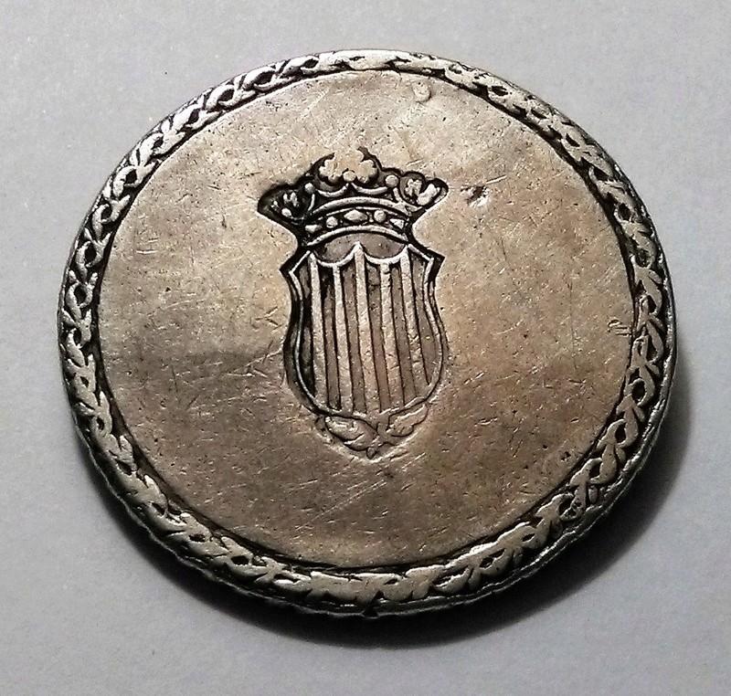 5 pesetas 1809. Fernando VII. Tarragona Img_2446