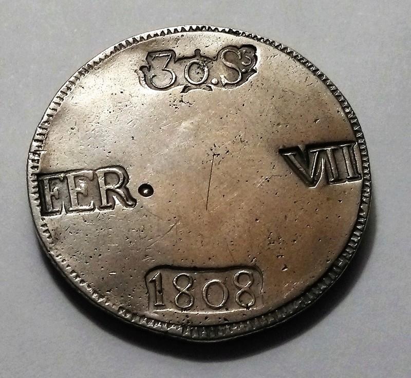 30 sous 1808. Fernando VII. Mallorca. Variante Img_2463