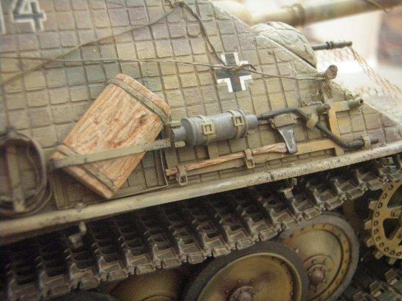 JAGDPANTHER sdkfz173 italeri 1/35 - Σελίδα 2 P3050030