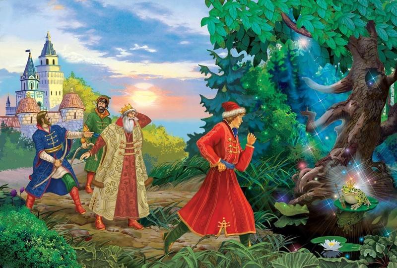 Царевна-Лягушка. Волшебный символизм сказки Inna-a10