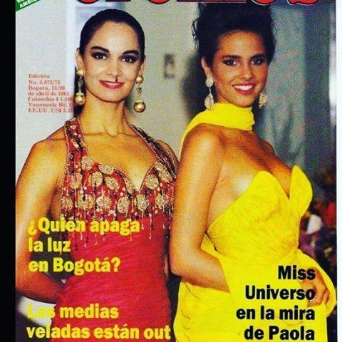 PAOLA TURBAY SEÑORITA COLOMBIA 1991-1992 (TBT) 18251410