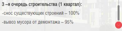 """Бюллетень строительства по ЖК """"Летний сад"""" 612"""