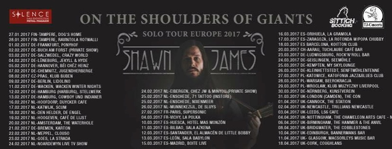 Shawn James en Barcelona en marzo 16831911