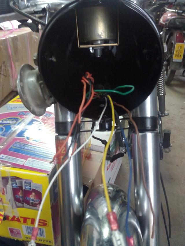 Restauración Derbi Olimpica * Derbideluxe Cables10