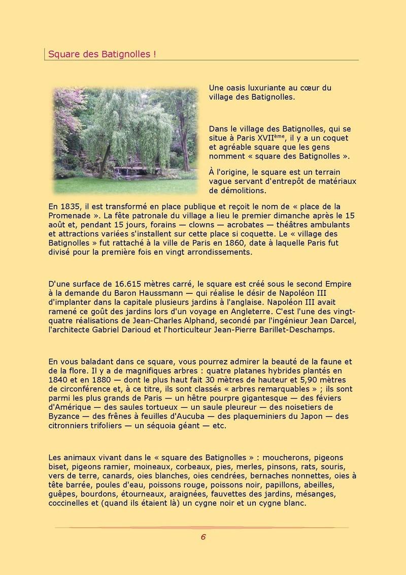 La Gazette des Batignolles n°1 Gazett17