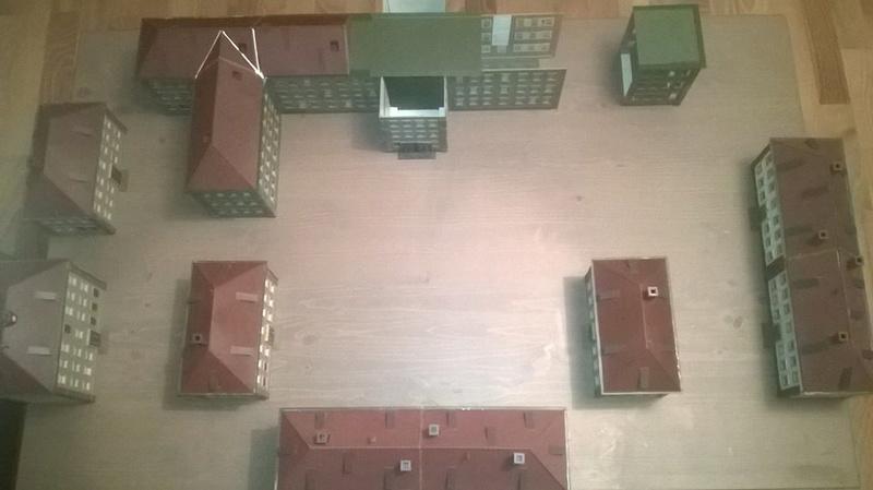 Eine NVA Kaserne Kasern10