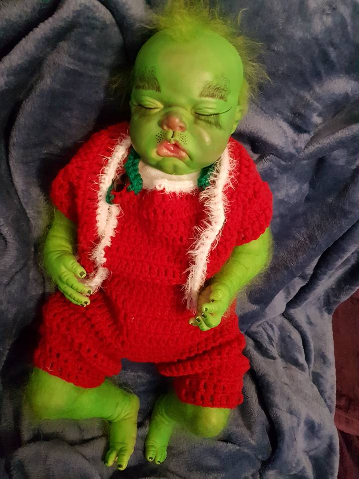 Baby Grinch all finished Grinch23