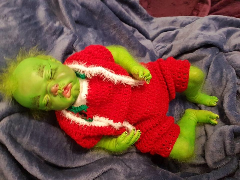 Baby Grinch all finished Grinch24