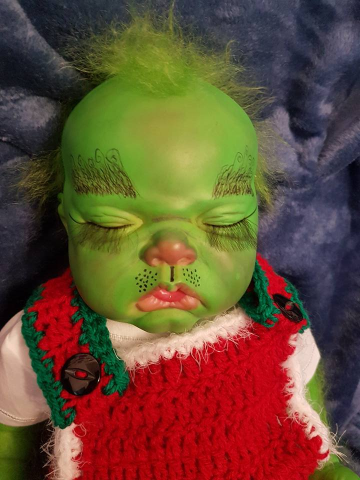 Baby Grinch all finished Grinch25
