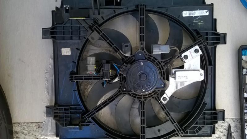 Eletro-ventilador (ventoinha, radiador) Novo Sentra B17 - Falta de Recall  Wp_20148