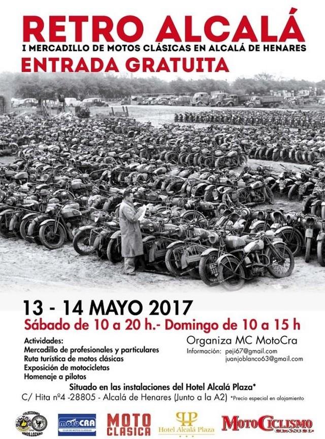 Retro-Alcalá 2017 - 13 y 14 de mayo Cartel10