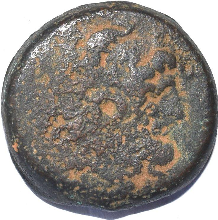 Bronce AE 32. Ptolomeo VI Filometor. 180-145 a.C. Alejandria 25510