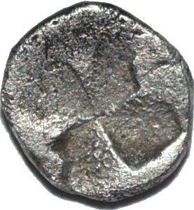 Tracia, Chersonesos . Hemiobolo (RARO). 500 a.C. 260a10
