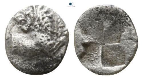 Tracia, Chersonesos . Hemiobolo (RARO). 500 a.C. 260b10