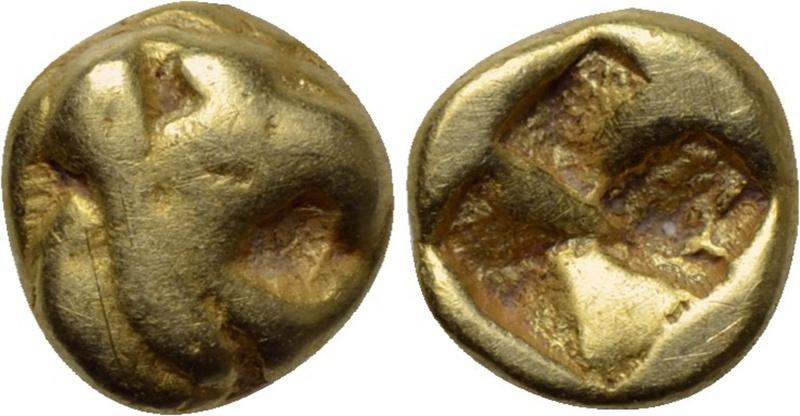 Jonia. Focea. 1/48 estatera de electro. (Ca. 625-600 a.C) 27110