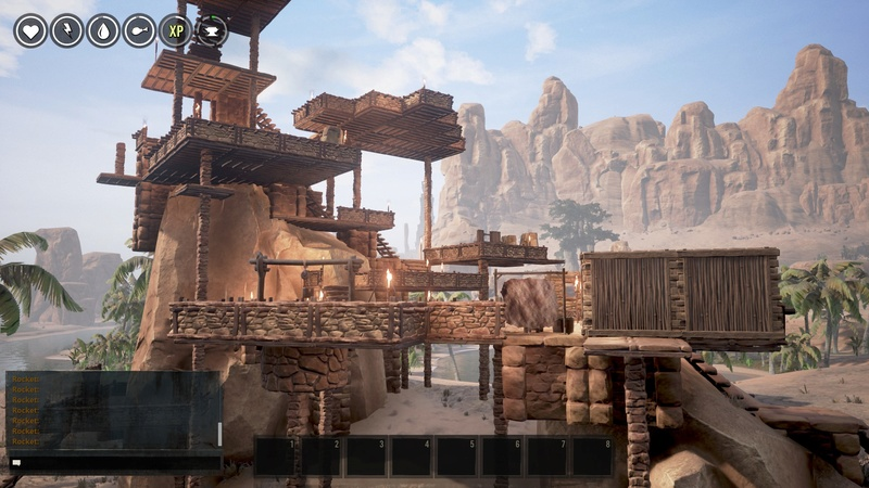Conan Exiles Toes in the Sand