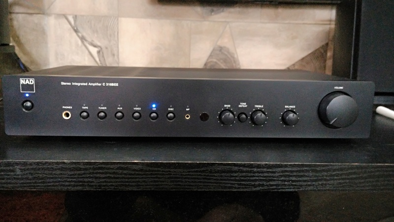NAD C 316BEE Stereo Integrated Amplifier (Used) Img_2019