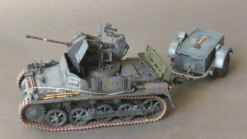 German Sd. Kfz. 101 Flakpanzer I A w/. Ammo Trailer - Страница 3 Img_2211