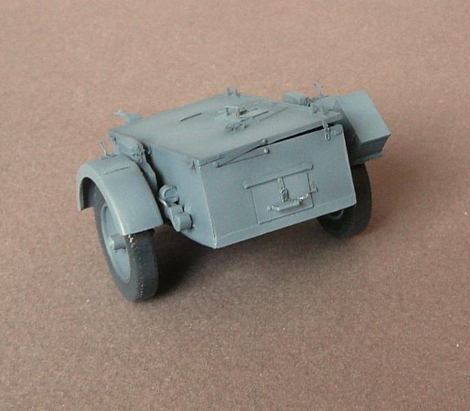 German Sd. Kfz. 101 Flakpanzer I A w/. Ammo Trailer - Страница 2 P1070612