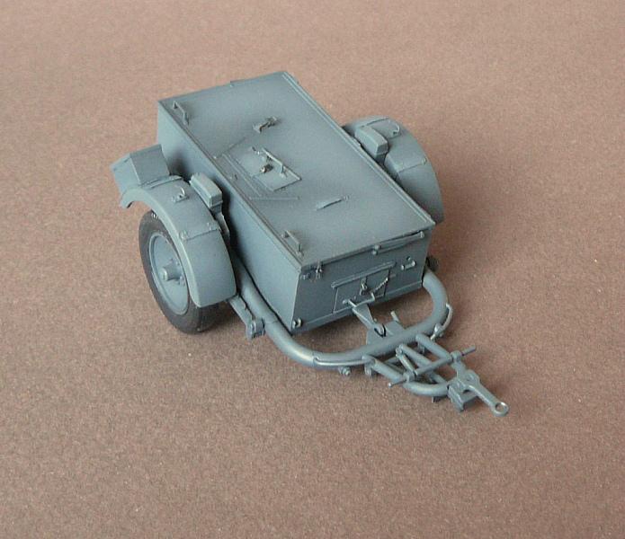German Sd. Kfz. 101 Flakpanzer I A w/. Ammo Trailer - Страница 2 P1070613