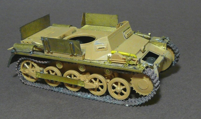 German Sd. Kfz. 101 Flakpanzer I A w/. Ammo Trailer - Страница 2 P1070619