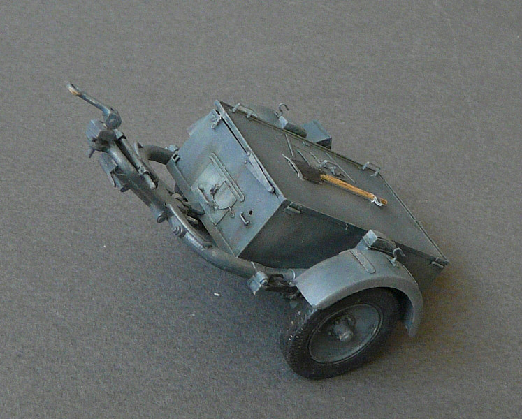 German Sd. Kfz. 101 Flakpanzer I A w/. Ammo Trailer - Страница 3 P1070710