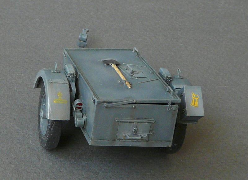 German Sd. Kfz. 101 Flakpanzer I A w/. Ammo Trailer - Страница 3 P1070712