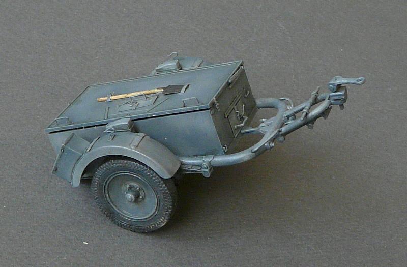 German Sd. Kfz. 101 Flakpanzer I A w/. Ammo Trailer - Страница 3 P1070713