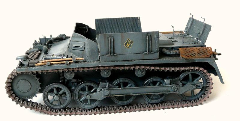 German Sd. Kfz. 101 Flakpanzer I A w/. Ammo Trailer - Страница 3 P1070813