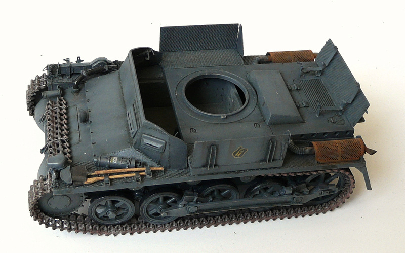 German Sd. Kfz. 101 Flakpanzer I A w/. Ammo Trailer - Страница 3 P1070814
