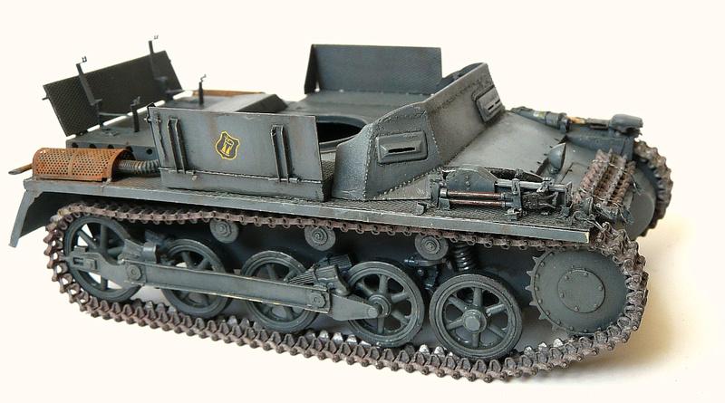 German Sd. Kfz. 101 Flakpanzer I A w/. Ammo Trailer - Страница 3 P1070815