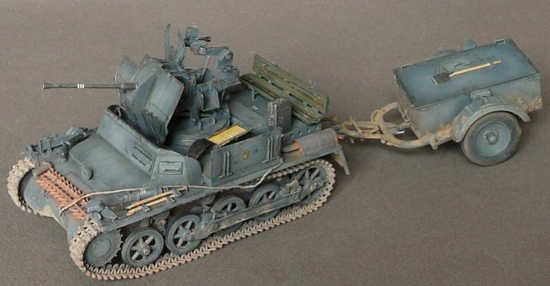 German Sd. Kfz. 101 Flakpanzer I A w/. Ammo Trailer - Страница 3 P1070925