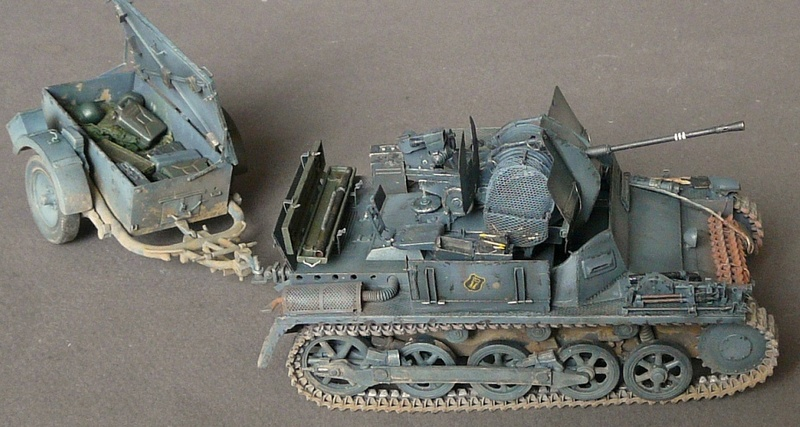 German Sd. Kfz. 101 Flakpanzer I A w/. Ammo Trailer - Страница 3 P1070926