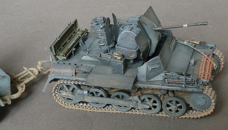 German Sd. Kfz. 101 Flakpanzer I A w/. Ammo Trailer - Страница 3 P1070928