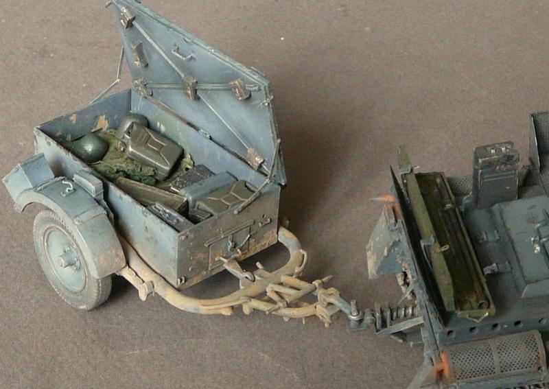 German Sd. Kfz. 101 Flakpanzer I A w/. Ammo Trailer - Страница 3 P1070929