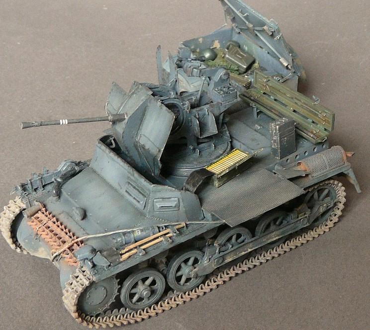 German Sd. Kfz. 101 Flakpanzer I A w/. Ammo Trailer - Страница 3 P1070931