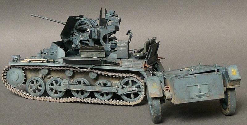 German Sd. Kfz. 101 Flakpanzer I A w/. Ammo Trailer - Страница 3 P1070932