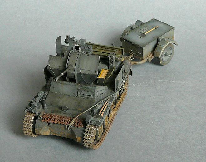 German Sd. Kfz. 101 Flakpanzer I A w/. Ammo Trailer - Страница 3 P1070933